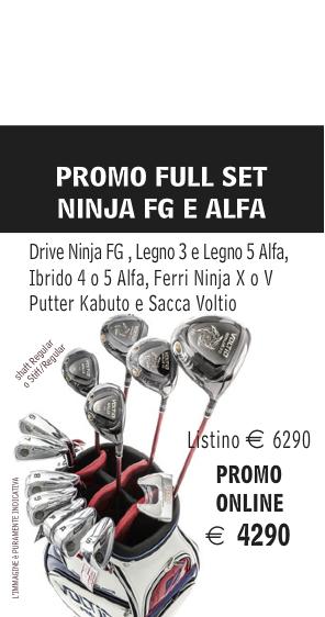 Katana Ninja Total Fullset Promo