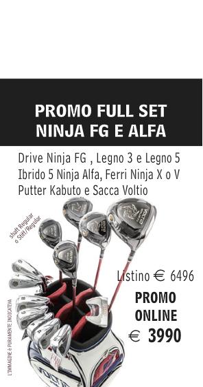 Katana Ninja Total Fullset Promo ITA