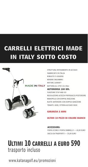 CARRELLI ELETTRICI BIANCHI MADE IN ITALY – ULTIMI PEZZI SOTTOCOSTO