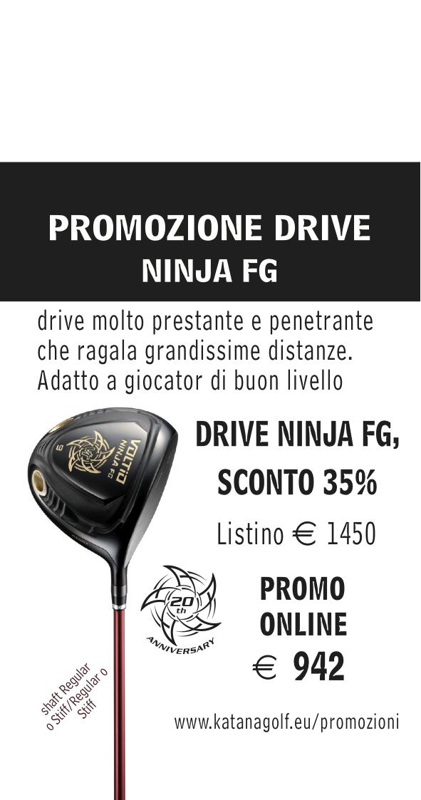 PROMO DRIVER NINJA FG – SCONTATO DEL 35%
